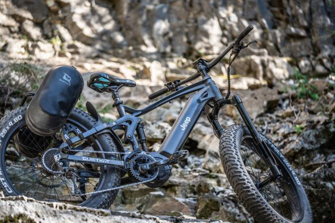 Jeep e-bike shipping next week