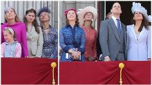 How many of the royals on the balcony do you know?