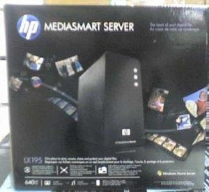 New HP MediaSmart Server LX195 caught out there by Mr. Blurrycam