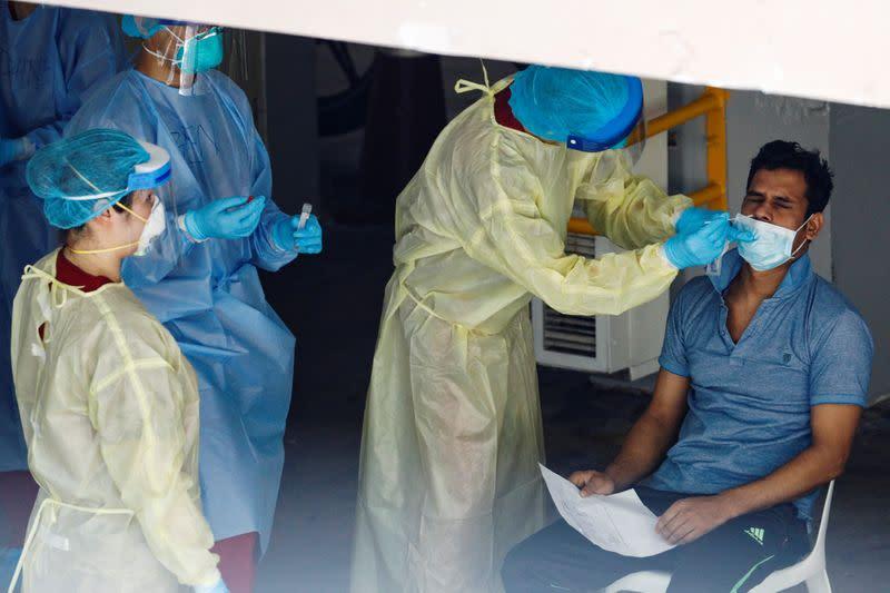 Singapore to use rapid coronavirus tests for weddings, events