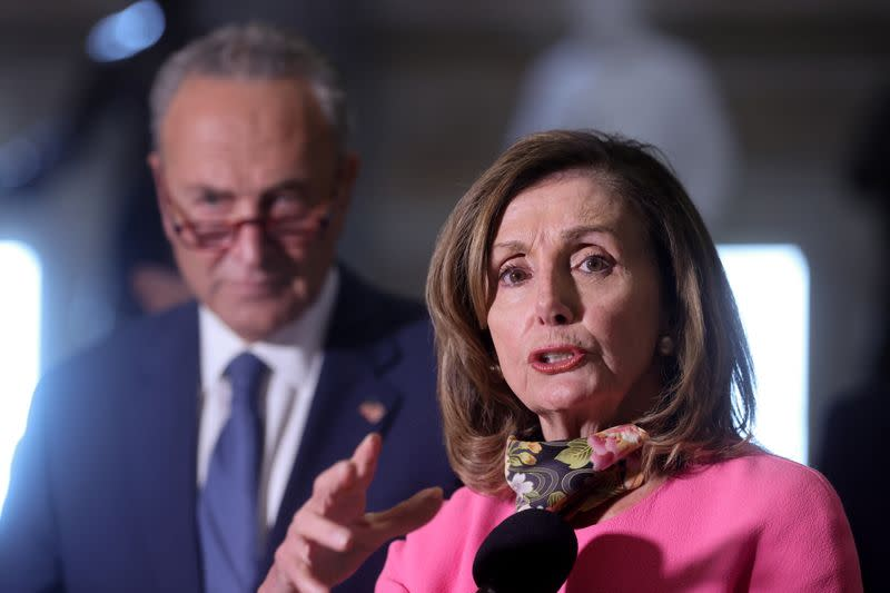 Top two Democrats in Congress call on U.S. postmaster general to reverse course: statement