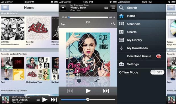 Sony Music Unlimited for iOS adds high-quality streams and offline mode