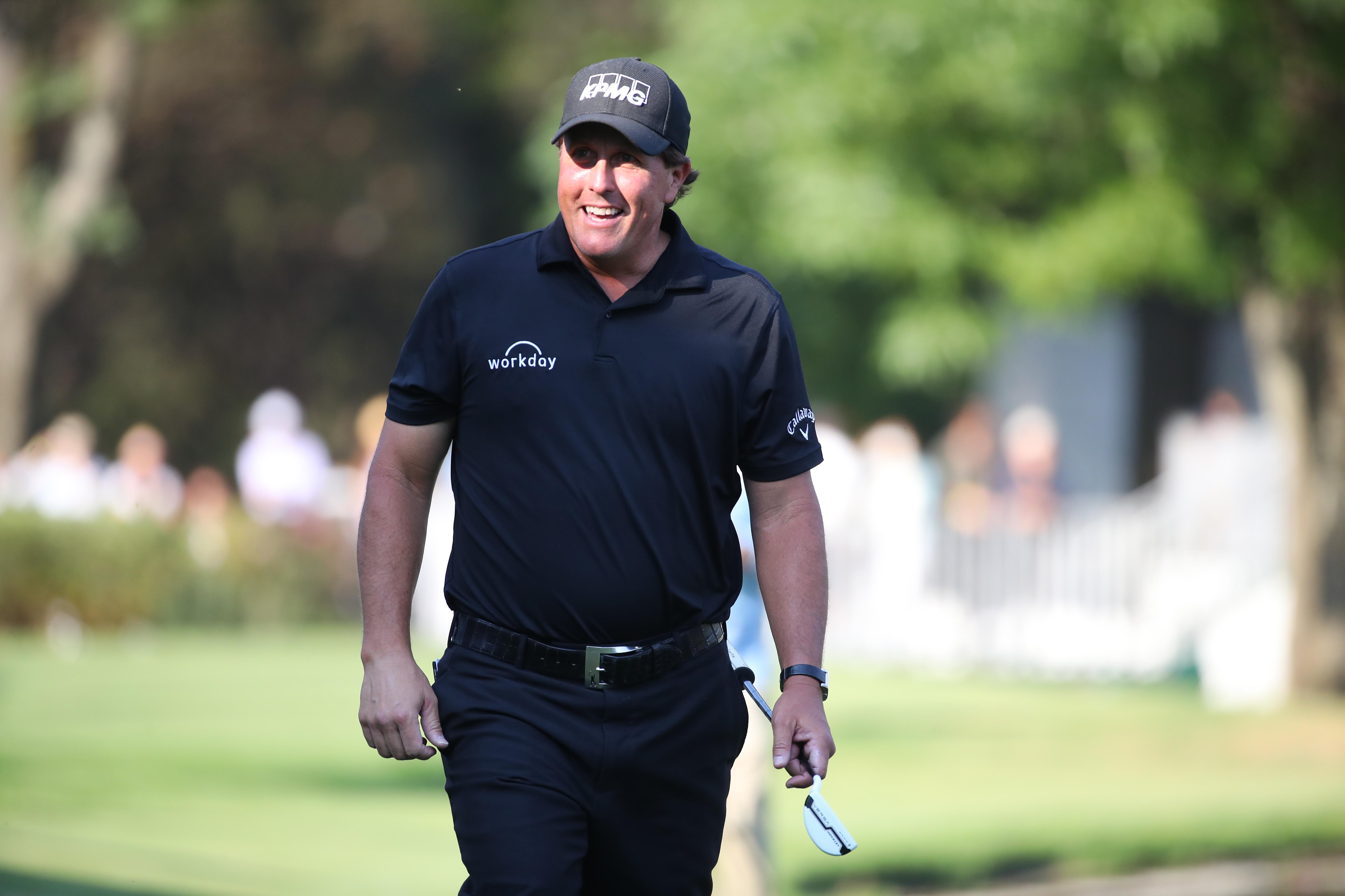 Phil Mickelson Defeats Justin Thomas In Playoff To Win Wgc Mexico