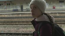 Greta Thunberg arrives in Bristol for climate protest