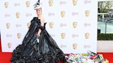 Actress praised for wearing £5 bin bag dress to BAFTA TV Awards