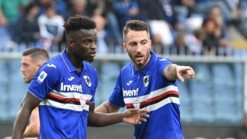 Roma: Club issue apology to Sampdoria's Ronaldo Vieira after racial abuse in Serie A game