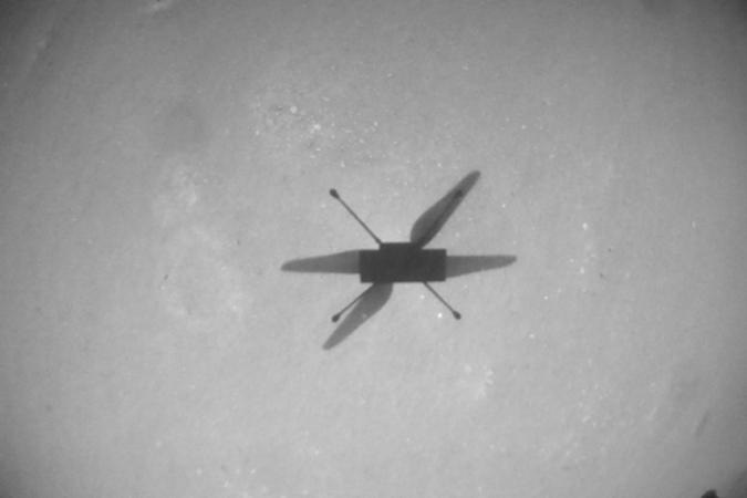 NASA Ingenuity helicopter on 10th flight over Mars