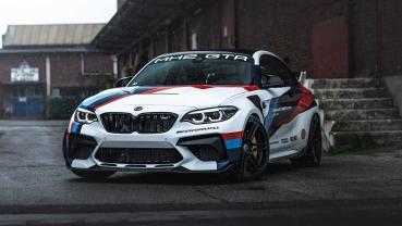 建立在極致之上的作品─Manhart 重改 BMW M2 CS