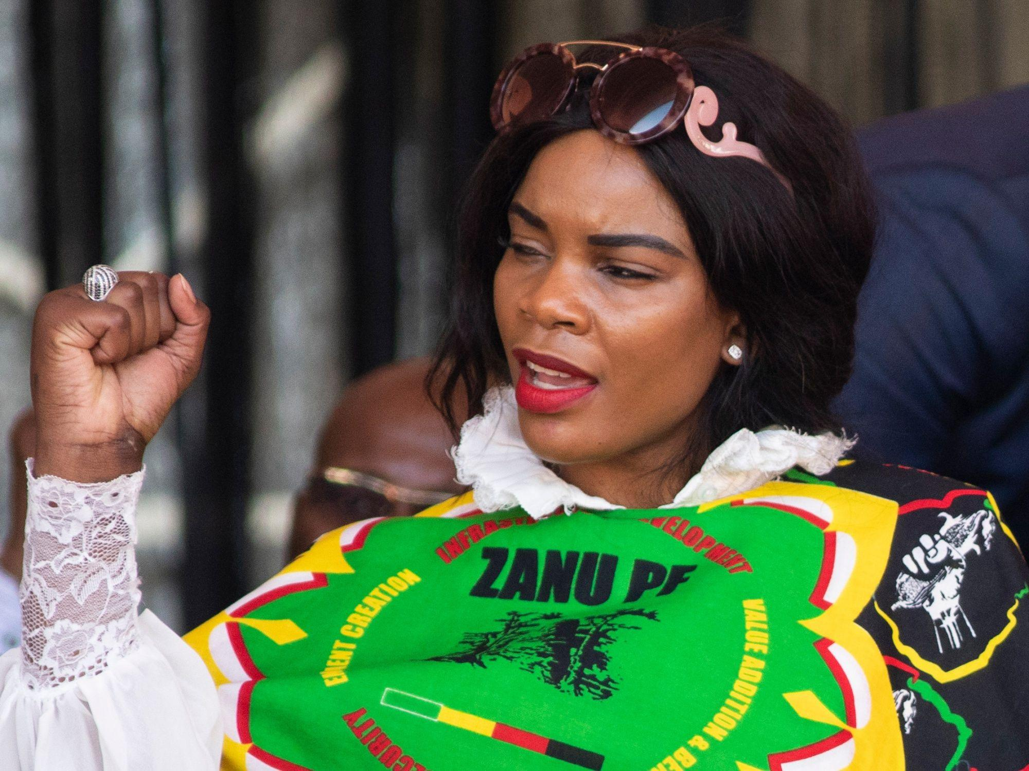 Zimbabwe VP's wife charged with trying to kill her husband
