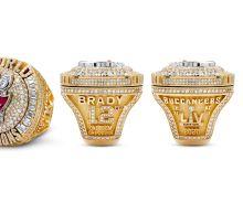 Tampa Bay Buccaneers receive Super Bowl 55 championship rings
