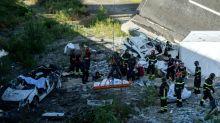 Prosseguem buscas por sobreviventes entre ruínas de viaduto na Itália