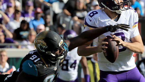 Jaguars, Vikings agree to Yannick Ngakoue trade