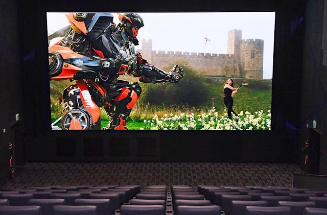 Samsung made a giant 34-foot LED TV for movie theaters
