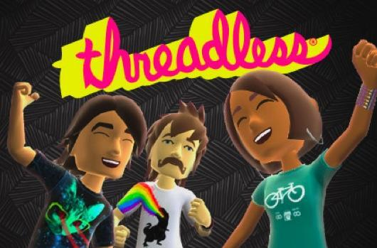 Threadless goes literally threadless with Xbox Avatar shirts