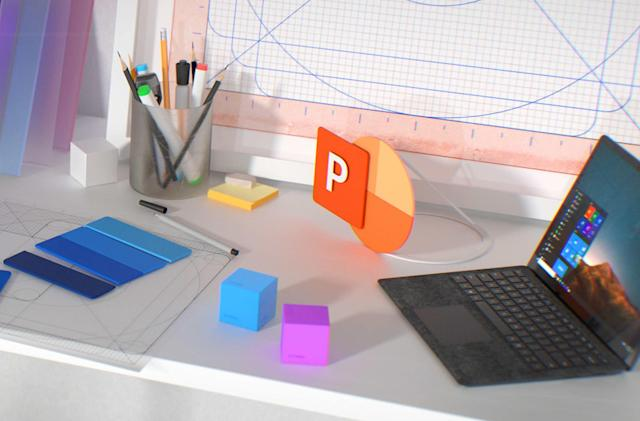MS Word and PowerPoint can tap into Adobe Creative Cloud libraries