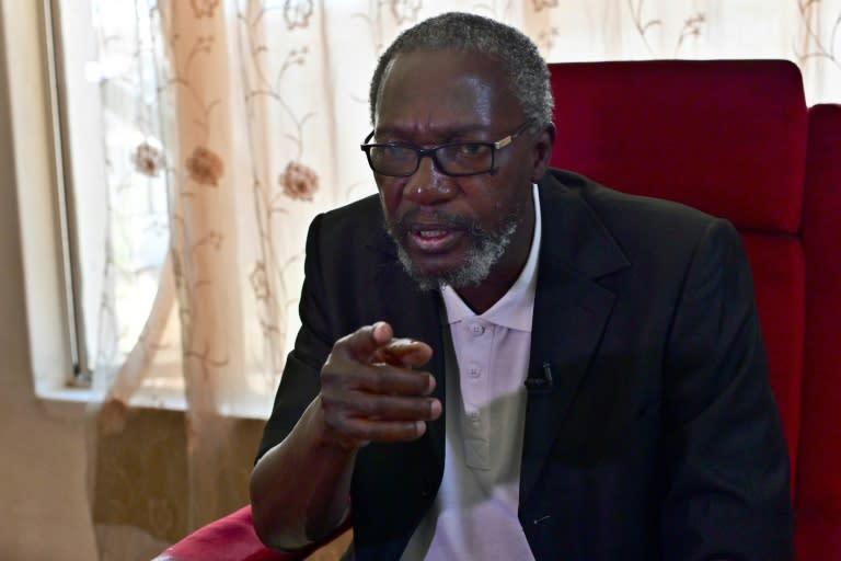 Leo Mugabe, nephew of Zimbabwe's Robert Mugabe, said the former leader's health deteriorated after his ouster (AFP Photo/TONY KARUMBA)