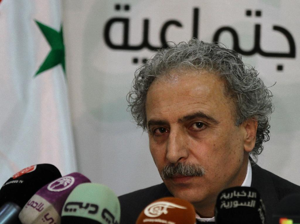 Syrian opposition figure Louay Hussein was detained by security forces near the border with Lebanon