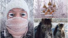 【有片】全球最凍地方 跌破零下62度一樣要返工