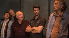 Watch exclusive Hatton Garden Job clip as Larry Lamb, Phil Daniels and Matthew Goode plot infamous heist