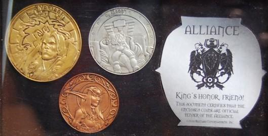 World of Warcraft currency becomes real-world coins