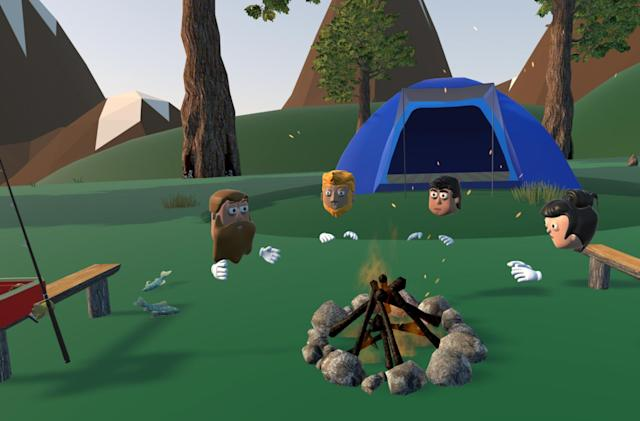 Meeting strangers in the VR wilderness