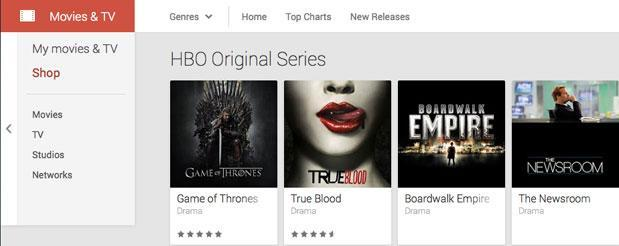 HBO brings its brand of 'not TV' to Google Play for a la carte purchase