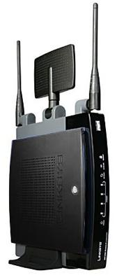 Linksys ships the WRT600N router and WPC600N notebook adapter