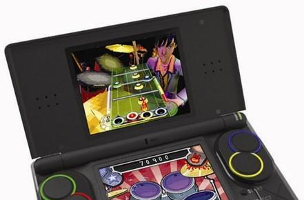 Band Hero's Nintendo DS Lite peripherals get pictured
