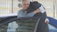 Student's incredible act for teacher living in car