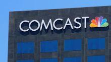 Comcast Falls 3%