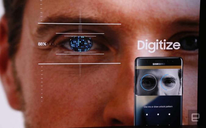 Samsung Pass will give you secure banking via an iris scan