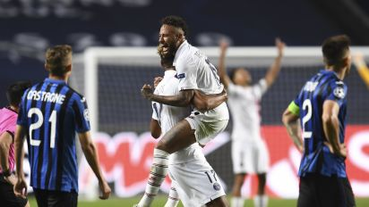 PSG's amazing comeback ends Atalanta's run in CL