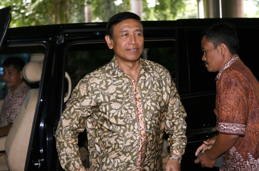 Wiranto was head of the armed forces when the Indonesian army and paramilitaries went on a bloody rampage in East Timor after it voted to become independent in August 1999 (AFP Photo/Adek Berry)