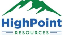 HighPoint Resources Announces First Quarter 2018 Earnings Release Date and Conference Call
