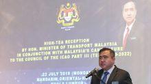 Malaysia will bid to keep international civil aviation seat