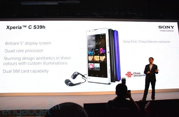 Sony Xperia C S39h is company's first MediaTek device, does the dual-SIM trick
