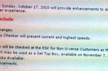 AT&T U-verse customers can use Xbox 360 as a set-top box starting November 7th