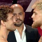 Jake Paul vs. Ben Askren final staredown ahead of Triller boxing bout