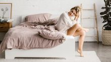 These Top Sheets Snap to Your Duvet, So You Never Get Tangled Up in Bed Again