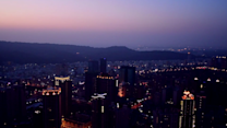 Skies Light Up Over Rejuvenated Taiwanese City