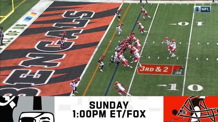 Raiders vs. Browns preview | Week 8