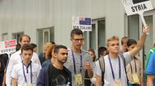Assad's son takes part in maths competition in Romania