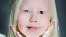 8-Year-Old 'Siberian Snow White' Stuns Modeling Agencies