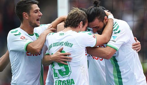 2. Liga: VfB lässt Punkte in Fürth liegen