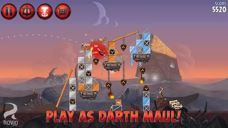 Angry Birds Star Wars 2 gets more levels, characters