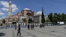Erdogan rebuffs criticism over Hagia Sophia conversion to mosque