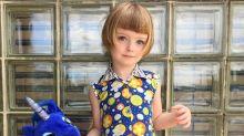 每日IG 又一個可愛小娃冒起 金色Bob髮配上大眼睛可愛程度爆燈