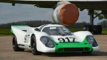 Icon 917K is a stunning replica of Porsche racer from 'Le Mans'