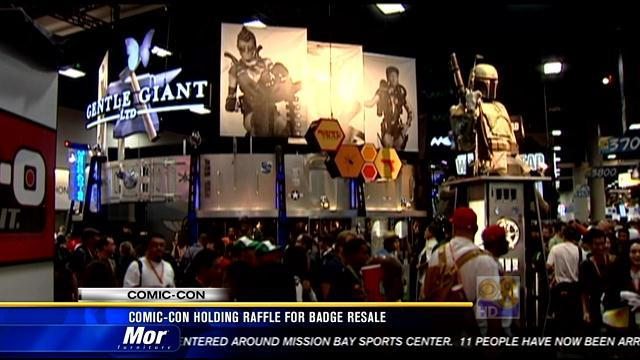Comic-Con holding raffle for badge resale
