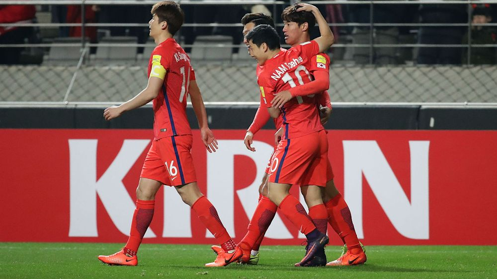 South Korea 1 Syria 0: Hong effort sees off spirited visitors